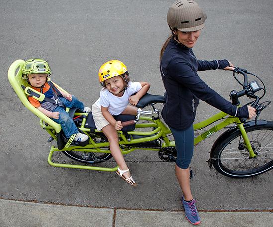 Electric Cargo Bike Mid Drive Motor Yuba Cargo Bikes