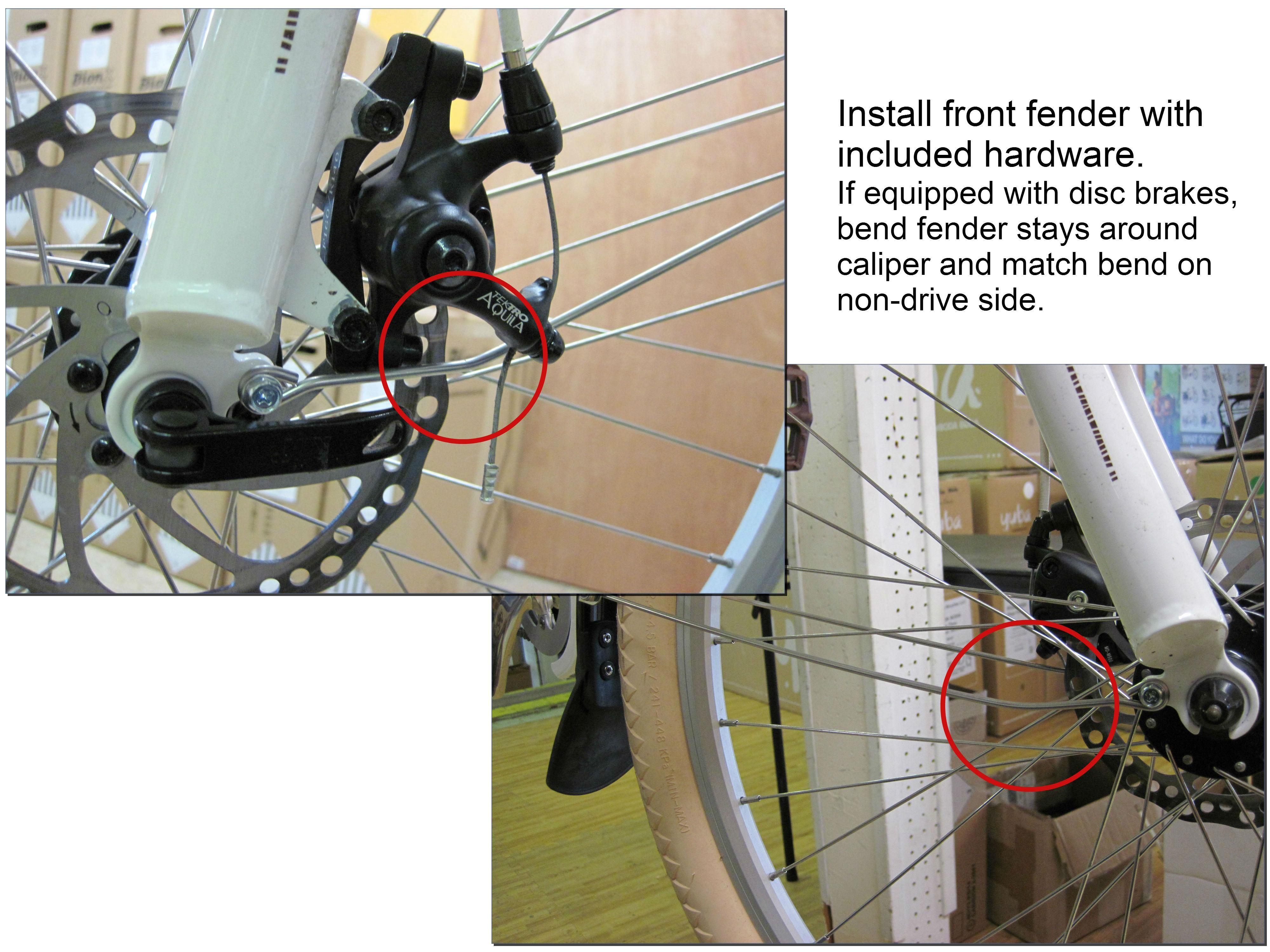 1) Front fender