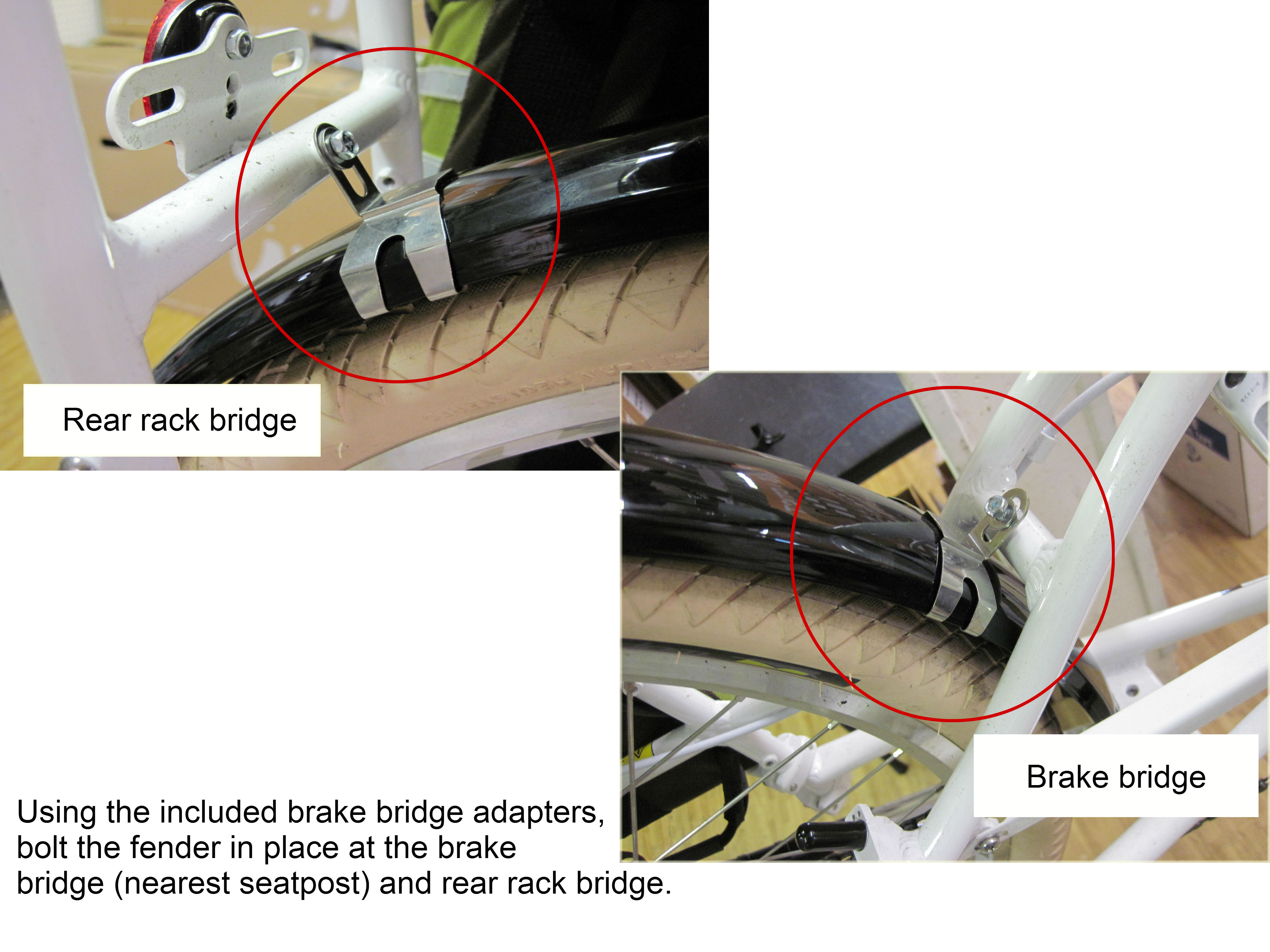 4) Bridge Brackets