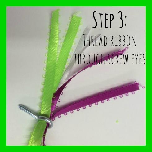 DIY ribbon step 3