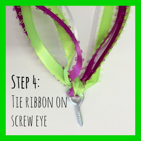 DIY ribbon step 4