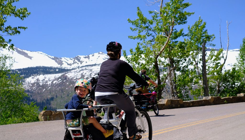 Carry kids by Yuba Spicy Curry Cargo Bike