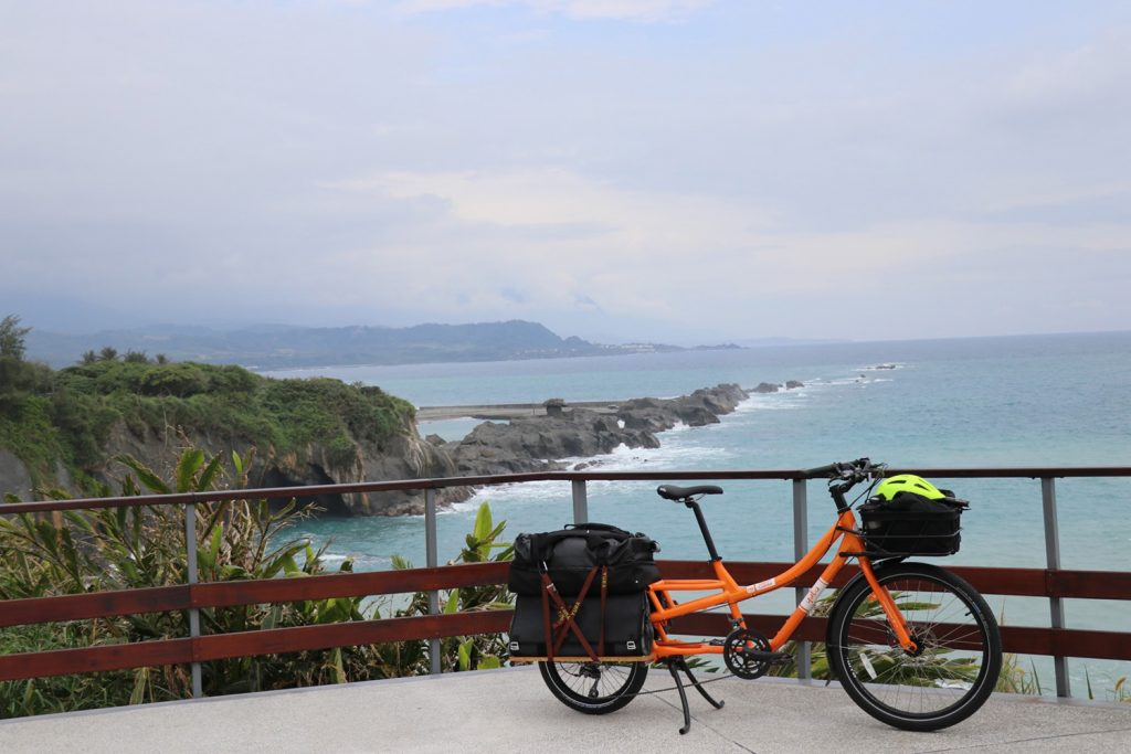 Yuba Sweet Curry Cargo Bike in Taiwan