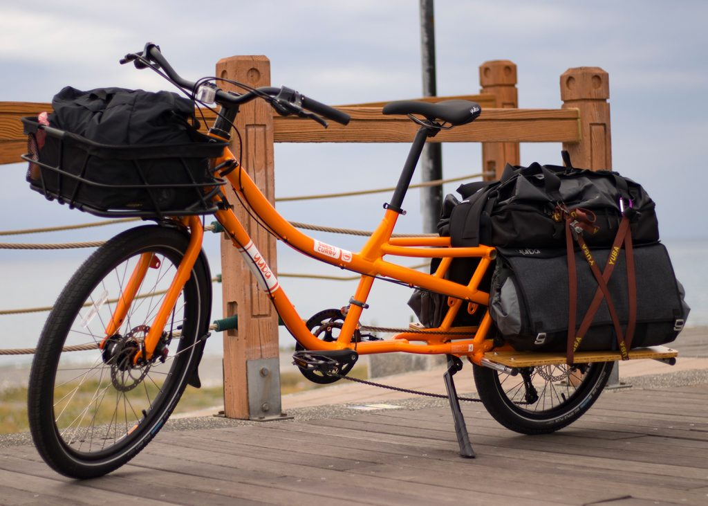 Yuba Sweet Curry Cargo Bike