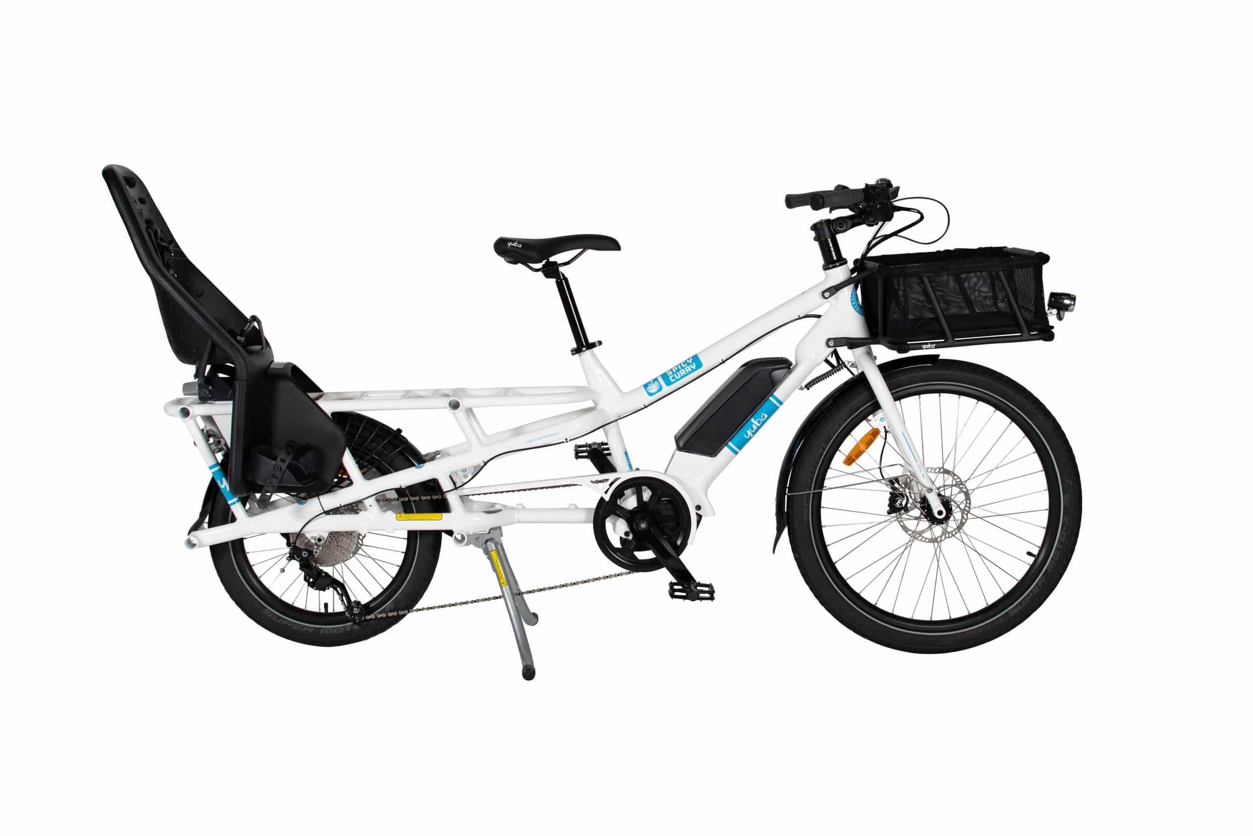 Yuba Spicy Curry Cargo Bike Child Seat
