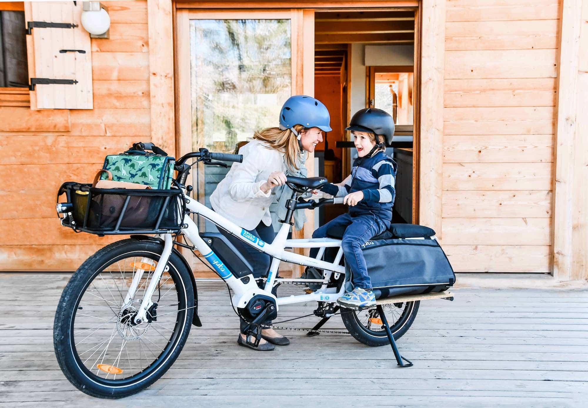 Yuba Spicy Curry Cargo Bike Lifestyle