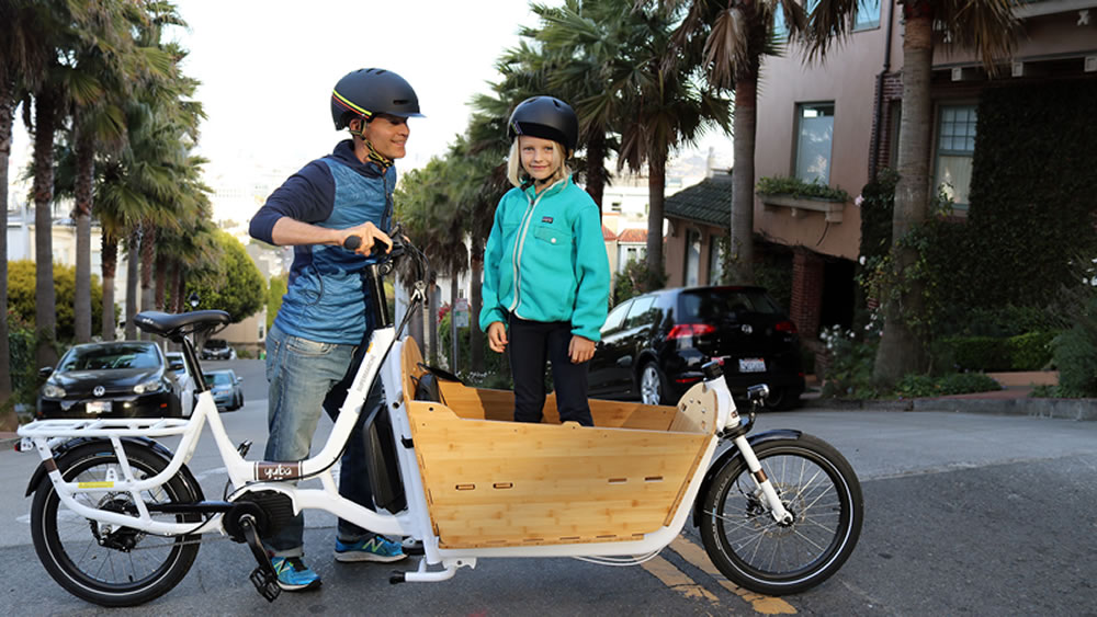 Adopt Cargo Bike Lifestyle Yuba Electric Supermarché