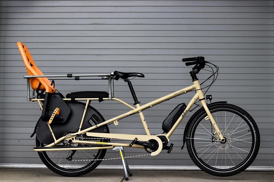 Yuba cargo e-bike accessories