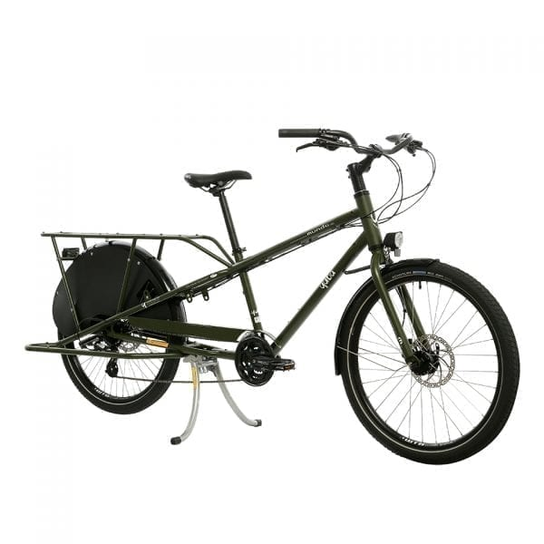 Yuba Mundo Lux Cargo Bike Green