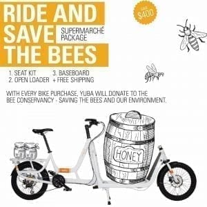 Yuba Cargo Bike Supermarche Bee pomo