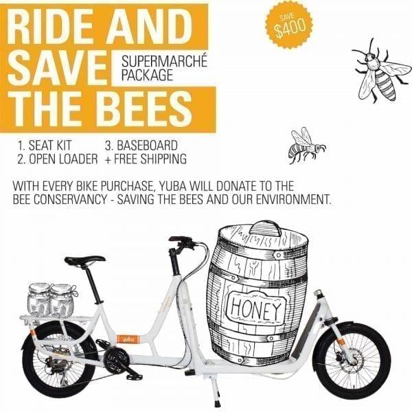 Yuba Cargo Bike Supermarche Bee pomo
