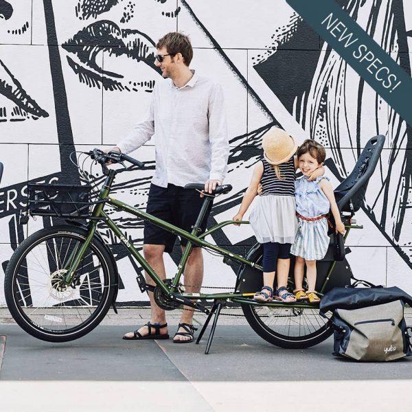 yuba_bikes_mundo_lux_olive_kid_dad New tecs specs