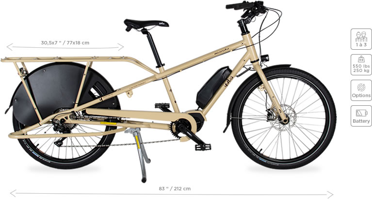 Mundo Electric cargo bike