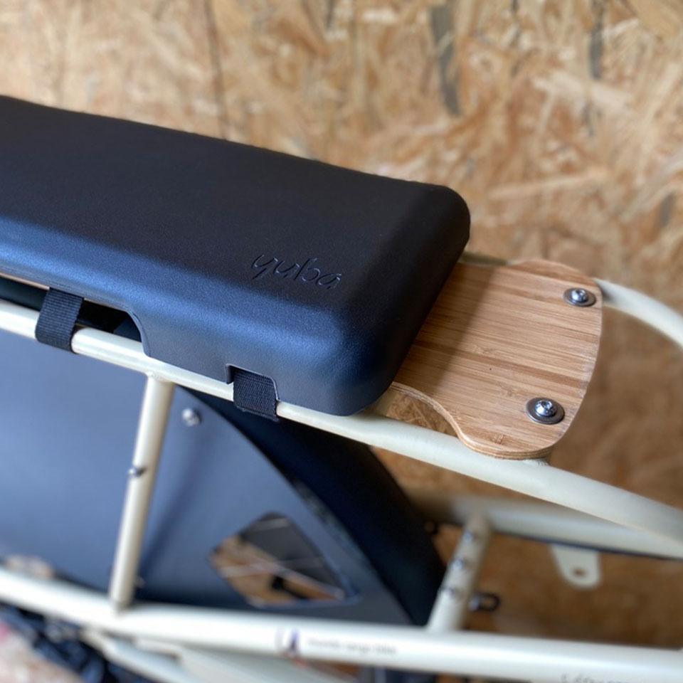 Yuba Bikes Soft Spot Padded Seat Pad for Mundo or Boda Boda Cargo Bike Utility