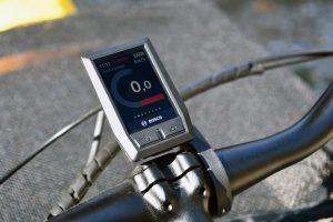 Kiox Display on Yuba Spicy Curry Cargo Bike