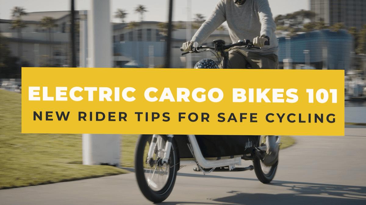 Electric Cargo Bikes 101 Supermarché