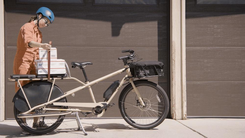 Electric Mundo Soft Spot Cargo Bike