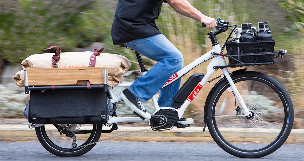 Yuba Bicycles Spicy Curry Bosch Electric Cargo Bike